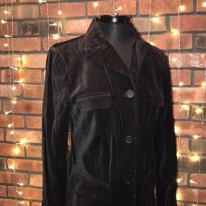 Kenneth Cole NY Velvet Blazer Soft Pockets